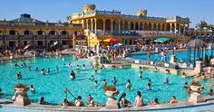 Széchenyi Thermal Bath, Budapest, Hungary (Photo: Richard I'Anson/LPI)