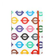 Mind The Gap A5 underground multi list book - All Desk Accessories - Desk Accessories - Stationery Essentials, Mind The Gap, Paperchase, Staying Organized, Desk Accessories, Sticky Notes, Stationery, Mindfulness, A5