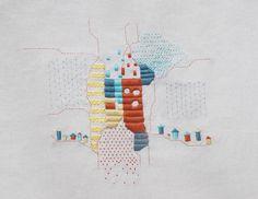 handmade embroidery - bordado a mano