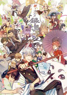 : Silver Soul Arc 2 - Second Season of the final arc of Gintama. Manga Art, Manga Anime, Anime Art, Ghibli, Katsura Kotaro, Gintama Wallpaper, Otaku, Okikagu, All Anime
