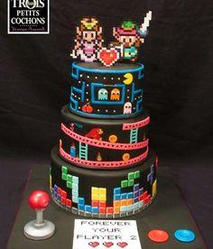 Os bolos nerds mais legais do universo!!!