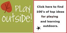 outside play/learning ideas