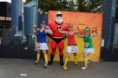 Character photo during the 2015 Walt Disney World Marathon