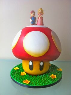 AWESOME MARIO CAKE! For a wedding maybe????