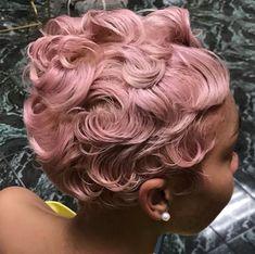 Bold pastel pink via @salonchristol - https://blackhairinformation.com/hairstyle-gallery/bold-pastel-pink-via-salonchristol/