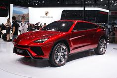 Lamborghini's newest foray into the premium truck/SUV market may still be for the production stop