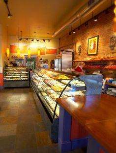 bakery interior design idea as seen on www.interiordesignpro.org
