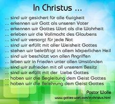 In Christus sind wir ... http://www.gottes-wort.com/in-christus.html