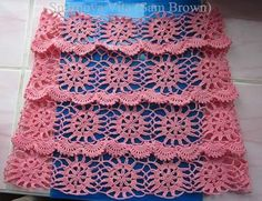 Irish lace, crochet, crochet patterns, clothing and decorations for the house, crocheted. Crochet Lace Edging, Crochet Shawls And Wraps, Irish Crochet, Knit Crochet, Crochet Curtains, Crochet Skirts, Crochet Clothes, Irish Lace, Knit Patterns