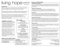 Church Ministry Stage Art N Craft Bulletins Newsletter Ideas