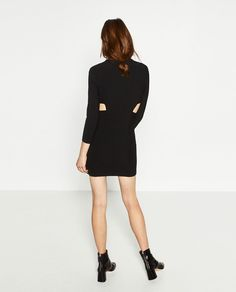 ZARA - WOMAN - CUT-OUT SHIFT DRESS