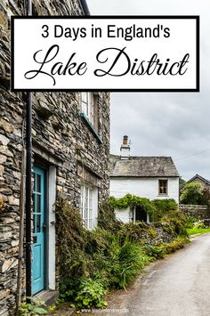 3 days in the Lake District. From picture-pretty villages to stunning views, these are the highlights.