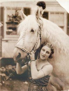 Elsie St Leon Australian circus performer 1924