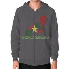 Thomas Sankara Zip Hoodie