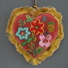 Nathalie Lété Embroidered Heart