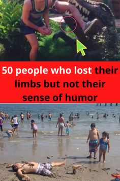 """Life can sometimes be a little bit more challenging for people who have lost an arm, leg, or pinky toe, but just because they've lost a body part doesn't mean they've lost their sense of humor. In fact, some amputees are uniquely suited to having more fun than """"two-legged freaks"""" with their cheeky jokes!"""