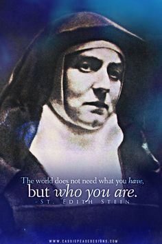 Teresa Benedicta of the Cross (Edith Stein) Mobile Wallpaper Catholic Quotes, Catholic Prayers, Catholic Art, Catholic Saints, Roman Catholic, Patron Saints, Quotes Wallpaper For Mobile, St Edith Stein, Saint Quotes