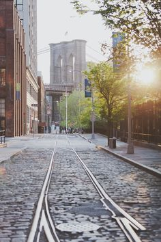 """Dumbo, Brooklyn (Dumbo means Down Under Manhattan Bridge Overpass) (I think scenes from """"Scent of a Woman"""" were filmed here)"""