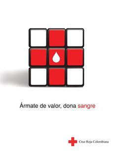 Cruz Roja - Ármate de valor, dona sangre. on Behance International Red Cross, Cross Pictures, First Aid Kit, Chile, Behance, Creative, Design, Red Cross, Red