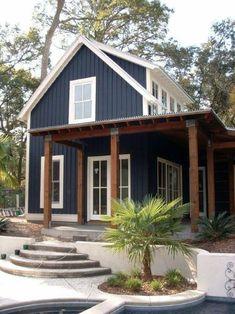 Exterior Home Design Modern Building 50 Ideas Exterior House Siding, Black House Exterior, Exterior Paint Colors For House, Paint Colors For Home, Modern Exterior, Paint Colours, House Exterior Design, Siding Colors For Houses, House Exteriors