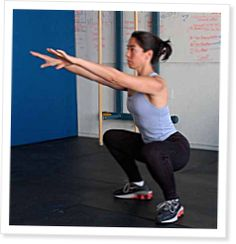 Squat Clinic - CrossFit Journal << They seem so simple but 300 reps later the legs are on fire! Good to read up on the athletic benefits of my pain. Crossfit Wods, Crossfit Exercises, Crossfit Trainers, Wod Workout, Toning Workouts, Hip Extension Exercise, Fitness Inspiration, Weight Lifting, Weight Loss