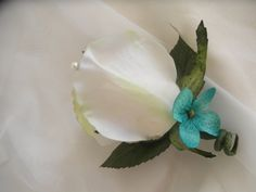 Groom Boutonniere. Set of 4 IVORY cream or off by FantasyWedding, $26.95