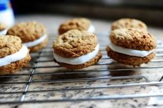 "Pioneer Woman oatmeal whoopie pies and bonus ""best frosting I ever had"" recipe."