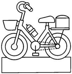 Une bicyclette.
