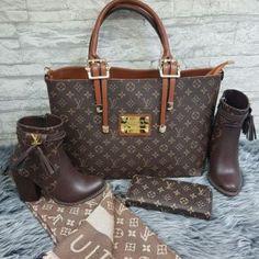 Louis Vuitton 1304 – Ayakkabı, Çanta, Cüzdan, Şal Kombin