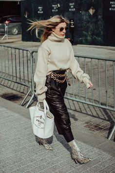 New York Fashion Week Street Style Street Style Trends, Street Style Looks, Street Style Women, Ny Fashion Week, New York Fashion, New York Winter Outfit, Fashion Photo, Style Fashion, Fashion Trends