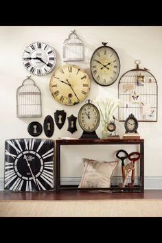 Clock wall, yes!