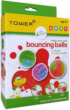 Be a Little Scientist and make your own bouncing balls.