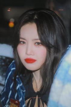 South Korean Girls, Korean Girl Groups, Boujee Aesthetic, Soo Jin, Doja Cat, Cube Entertainment, Soyeon, Extended Play, Mamamoo