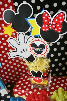 Fazendo a Minha Festa Infantil: Festinha Super Original do Mickey - do Site And Everything Sweet!