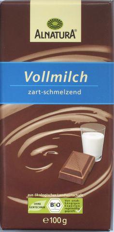 Alnatura Bio-Vollmilchschokolade