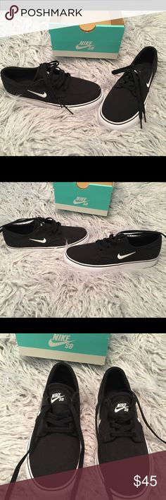 Nike SB Clutch 5Y New 🎀 Nike SB Clutch Shoes.  Brand new.  Comes in box without lid (please note box isn't in perfect condition) Size 5Y (youth).  See pictures.  No trades. No holds. All offers (lowest ?'s) via make offer button only please (reasonable offers). Thanks for looking and Happy Poshing! 😊! Nike Shoes Sneakers