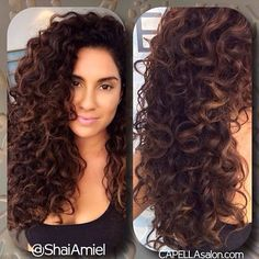 Beautiful Ideas for Long Curly Hair Curly Hair Tips, Long Curly Hair, Curly Hair Styles, Natural Hair Styles, Curly Perm, Permed Hairstyles, Pretty Hairstyles, Straight Hairstyles, Pinterest Hair