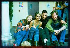 Buffy cast and Joss. Woahs. Old school goodness.