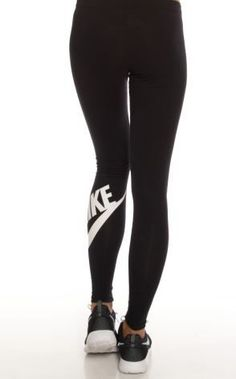 Obsessed. Nike Leg-A-See Logo Leggings on http://www.studentrate.com/Trending.