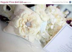 <3 Lacey Claire Designs on Etsy -  Dupioni Silk Pillow Couture style