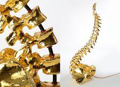 Gold Spine Lamp