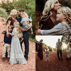 Family photos, great example of mixing patterns and different textures. Family Portrait Outfits, Family Picture Outfits, Family Posing, Family Portraits, Fall Family Pictures, Family Pics, Family Of 5, Family Photo Sessions, How To Pose