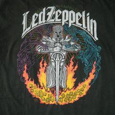Vintage LED ZEPPELIN 1992 T-SHIRT