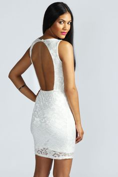 Libby Open Back Lace Bodycon Dress Get 7% Cash Back http://www.studentrate.com/all/get-all-student-deals/Boohoo-com-Student-Discounts--/0