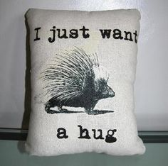 Creatures who are actively prickly forfeit their right to a hug until they act less prickly, imho.