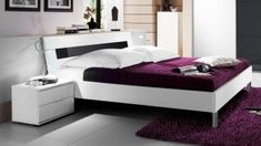 Biela / Biela Black And White, Bed, Design, Furniture, Home Decor, Products, Coloured Glass, Timber Mouldings, Bed Frame