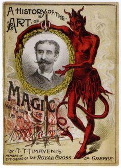 Diablo mágico.
