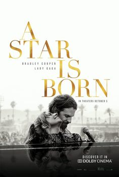 Another poster about A Star is born with Lady Gaga and Bradley Cooper. - Another poster about A Star is born with Lady Gaga and Bradley Cooper. Films Récents, Films Netflix, Film Gif, Film Serie, 2018 Movies, Movies Online, Books Online, See Movie, Movie Tv