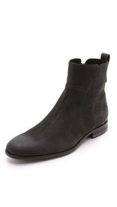 Vince Andes Nubuck Chelsea Boots