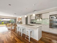 #1 Top Kitchen Include these sliding doors & dining area